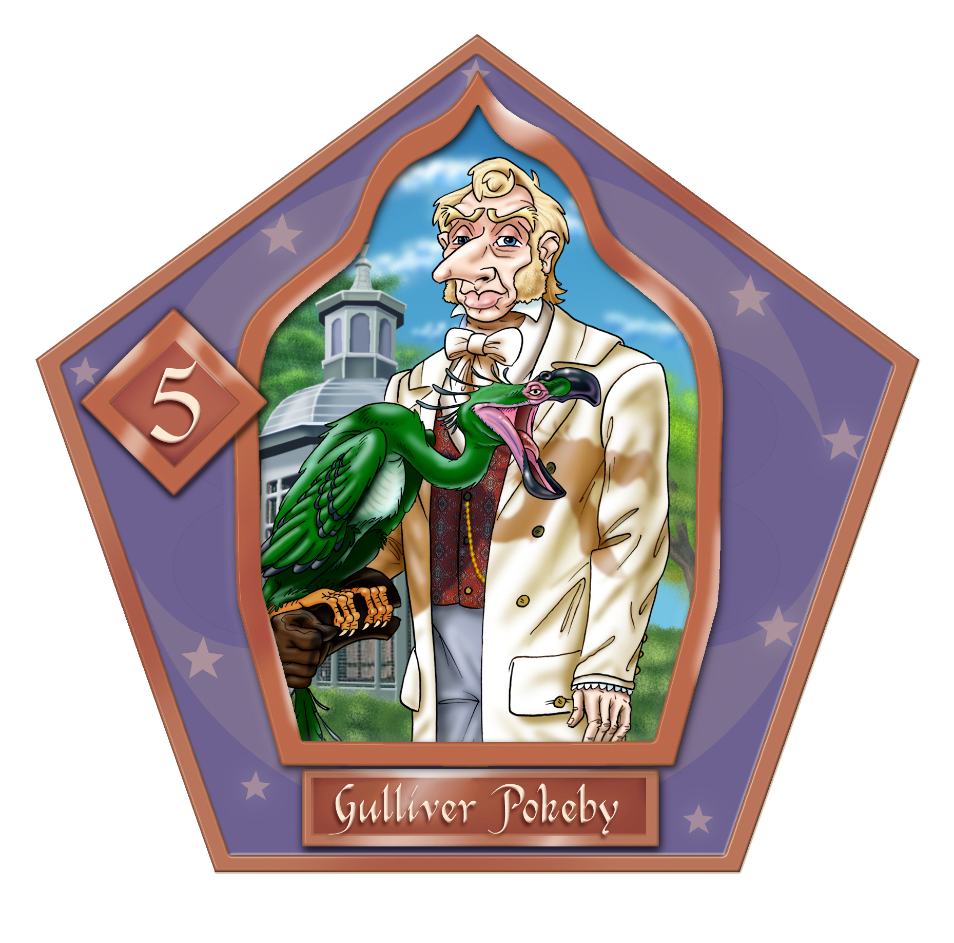Gulliver Pokeby-05-chocFrogCard