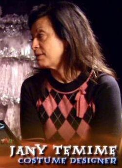Jany Temime (Costume Designer of Harry Potter films)