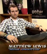 Matthew Lewis (Neville Longbottom) HP6 screenshot