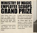Daily Prophet - Ministry Employee Scoops Grand Prize.jpg