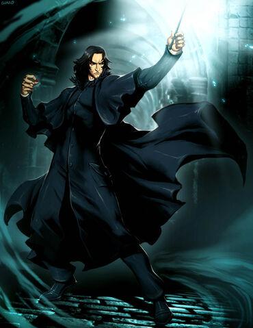 File:HP Severus Snape by GENZOMAN.jpg