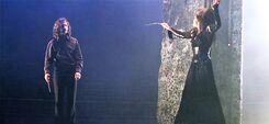 Sirius Black and Bellatrix Lestrange duel 01