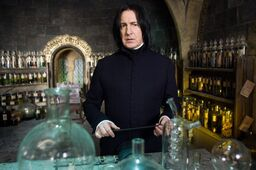 Severus in his classroom