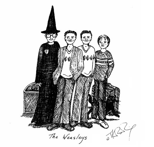 File:JKR Weasleys illustration.png