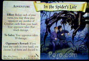 File:In the Spider's Lair (Harry Potter Trading Card).jpg