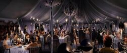 Weasley's wedding reception concept artwork 02