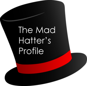 The mad hatter's profile
