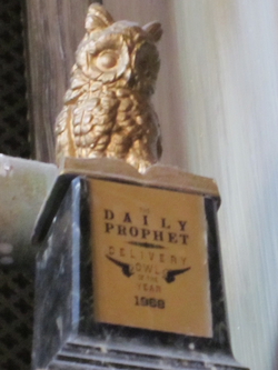 Daily Prophet Delivery Owl of the Year 1968