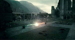 DH - Voldemort VS. Harry Final Duel 03