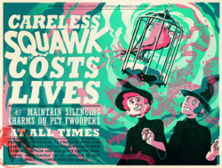 Careless Squawk Costs Lives