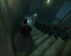 Slughorn's staircase