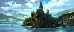 Hogwarts castle (Concept Artwork) 07