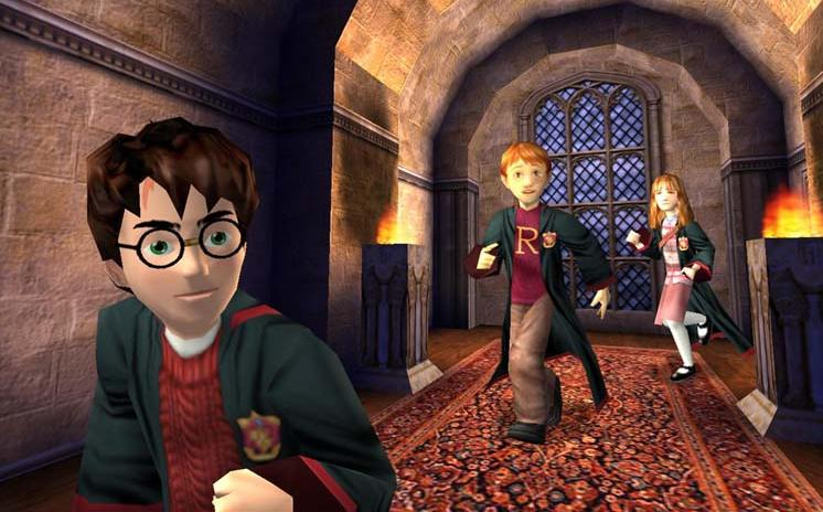 harry potter chamber secrets pc game free