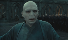 Voldemort realising Harry isn't dead
