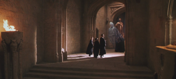 Corridor off the entrance hall harry potter wiki fandom powered by wikia - Corridor entrance ...