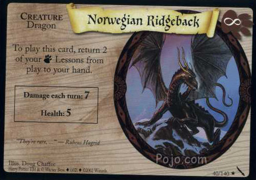 File:Norwegian Ridgeback (Harry Potter Trading Card).jpg