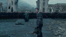 Neville confronts Voldemort