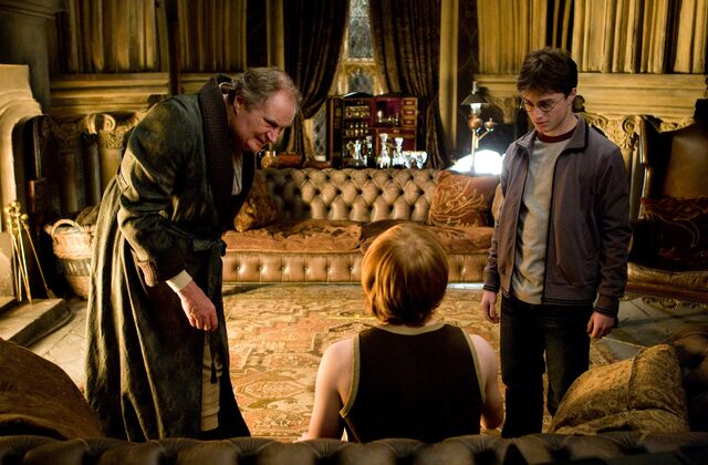 File:Ron and Harry Potter at Slughorn's office.jpg