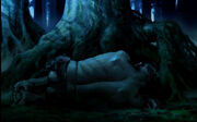 Grawp (Sleeping at the Forest - Conceptual Artwork for the HP5 movie 06)