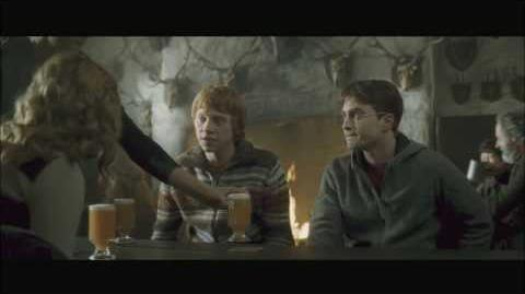Harry Potter and the Half Blood Prince HD Clip (Trio at the Three Broom Sticks)
