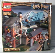 Escape from Privet Drive lego
