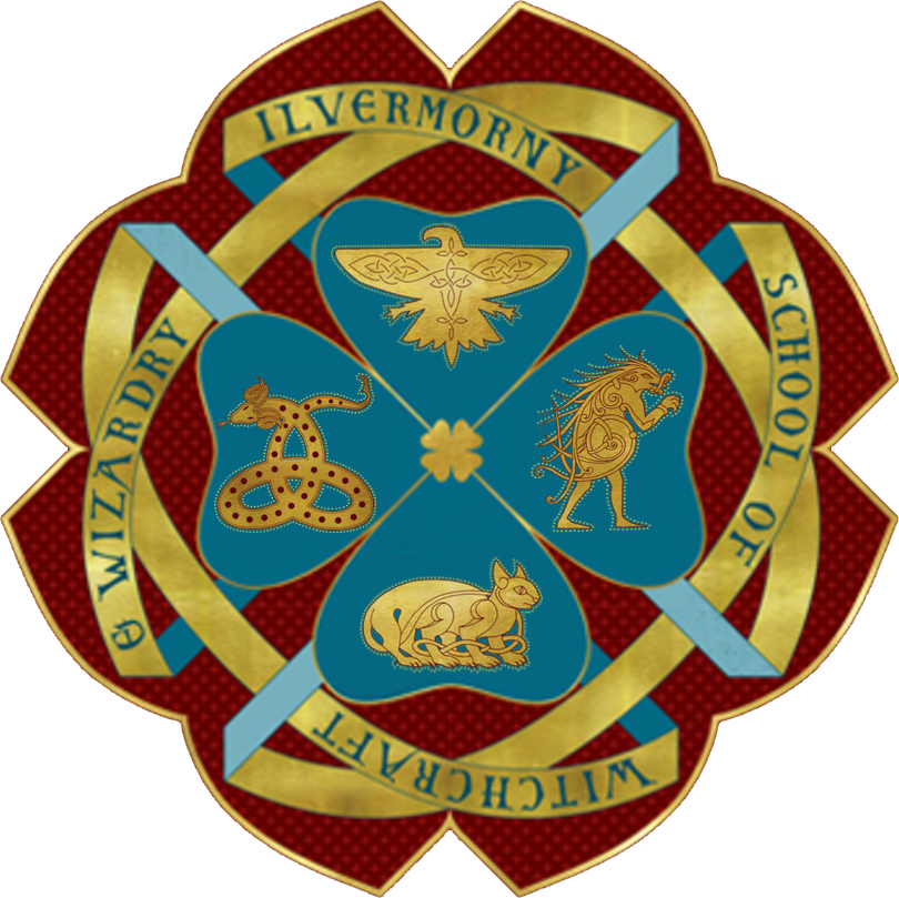 Image result for ilvermorny crest