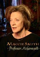 Maggie Smith (Professor McGonagall) CoS screenshot