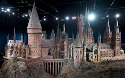 Hogwarts model Half-Blood Prince