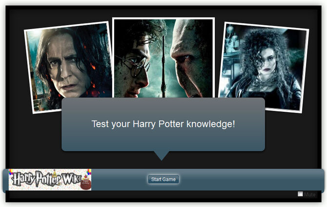 HP quiz invite