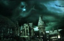 Dark Mark on top of Hogwarts Castle