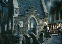 Hogwarts Express terminal (concept artwork)