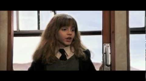 Harry Potter and the Philosopher's Stone - Harry, Ron & Hermione in the Hogwarts Express
