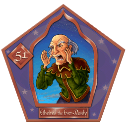 Ethelred The Ever-ready-51-chocFrogCard