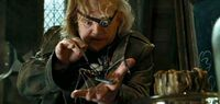Barty Crouch Jr. impersonated as Alastor Moody at Defence Against the Dark Arts class