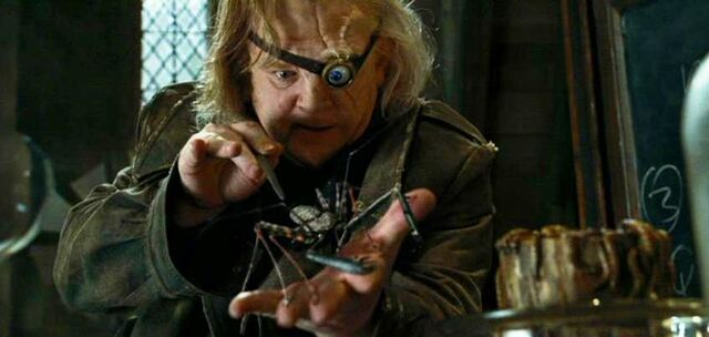 File:Barty Crouch Jr. impersonated as Alastor Moody at Defence Against the Dark Arts class.jpg