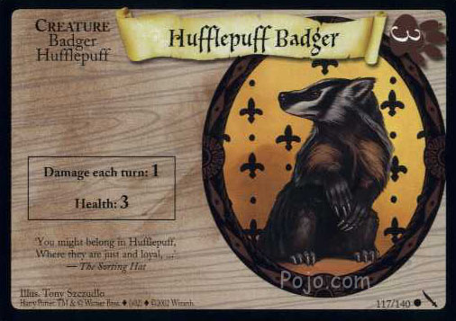 File:Hufflepuff Badger (Harry Potter Trading Card).jpg