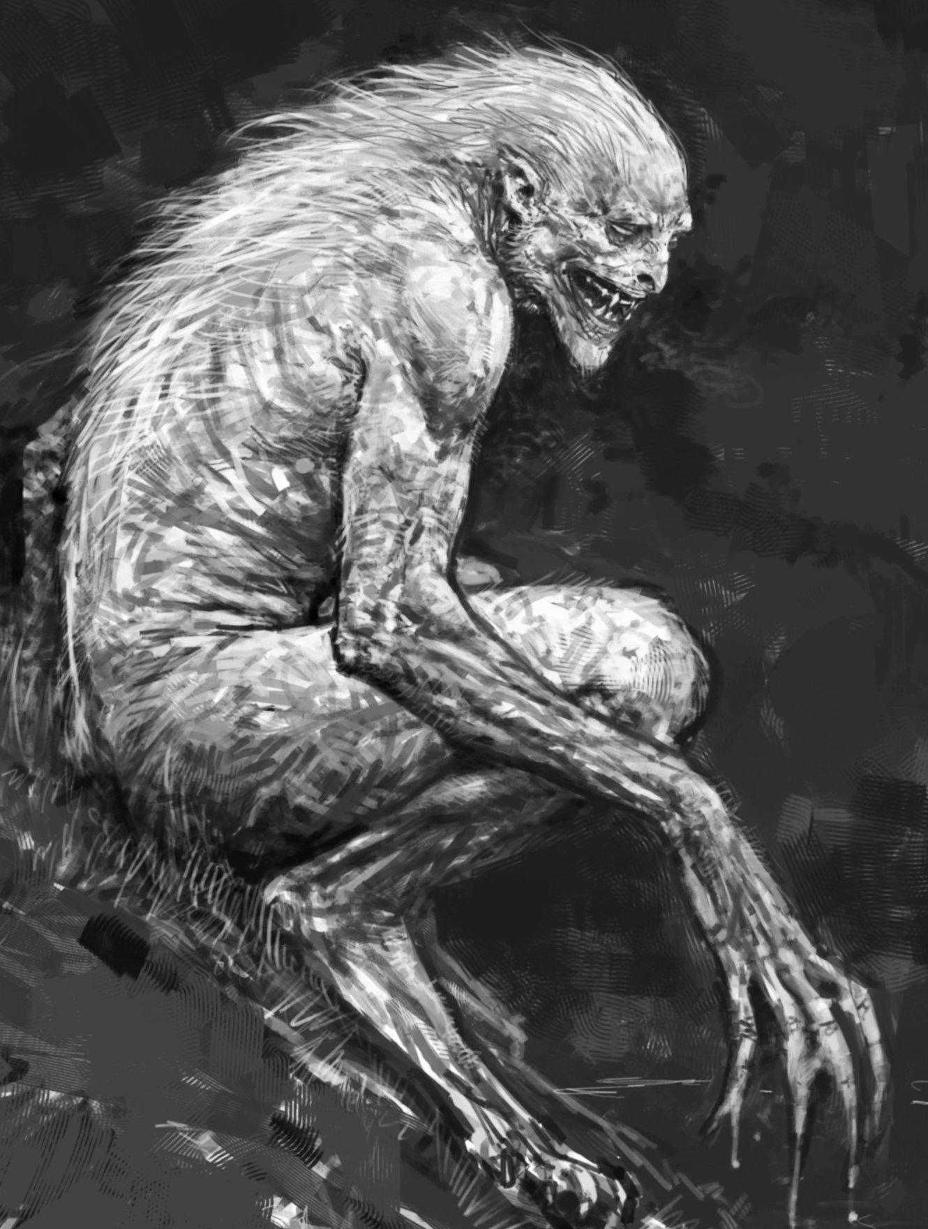 Description of a werewolf?