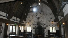 Three Broomsticks Interior