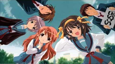 The Melancholy of Haruhi Suzumiya - Tomare! (Full) HD HQ Ending 2