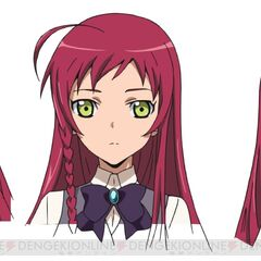 Character face design for the Hataraku Mao-sama! anime