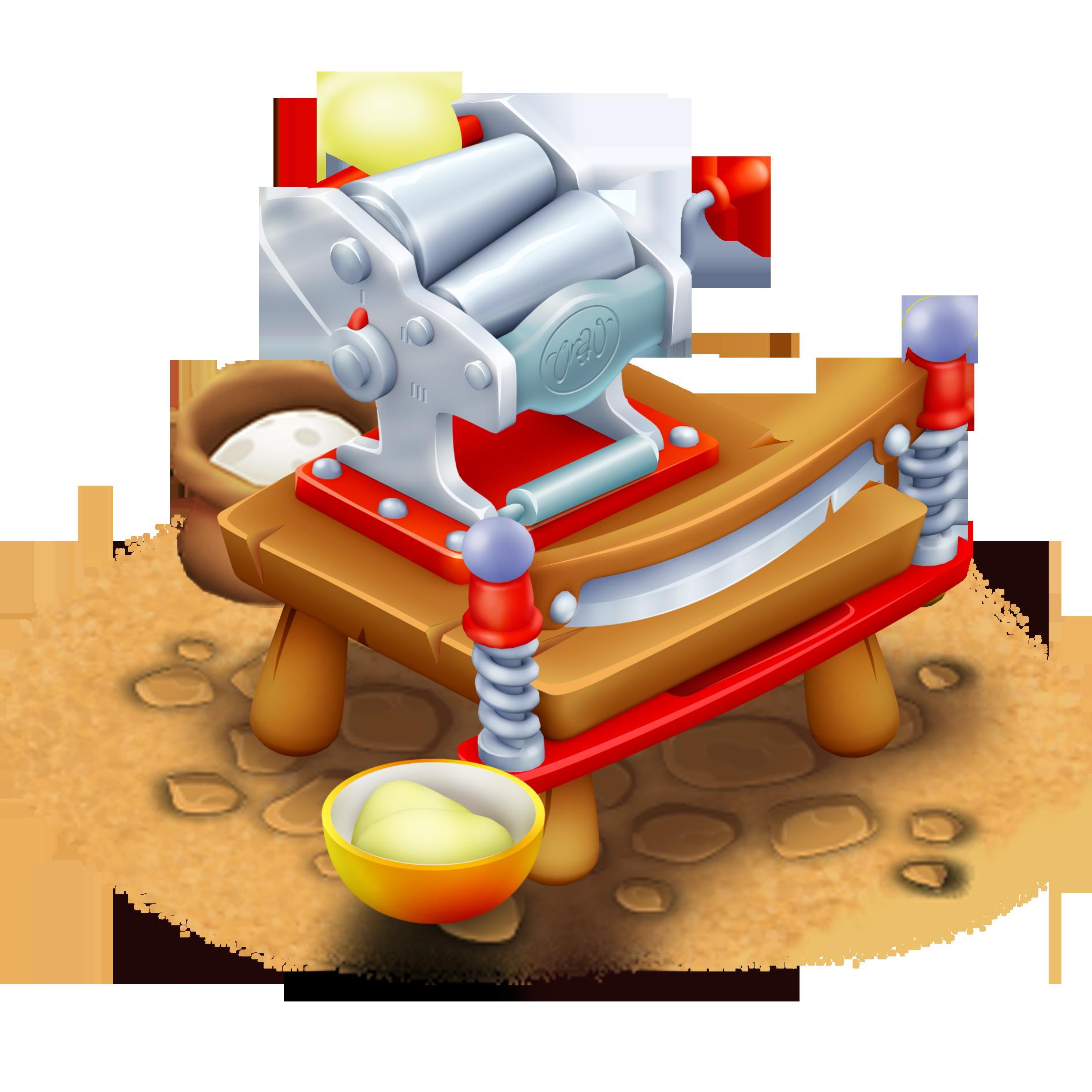 Pasta Making Machine Clip Art