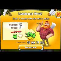 Lumberjack Offer