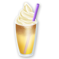 Iced Banana Latte