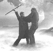 John Talbot vs. the Wolf Man
