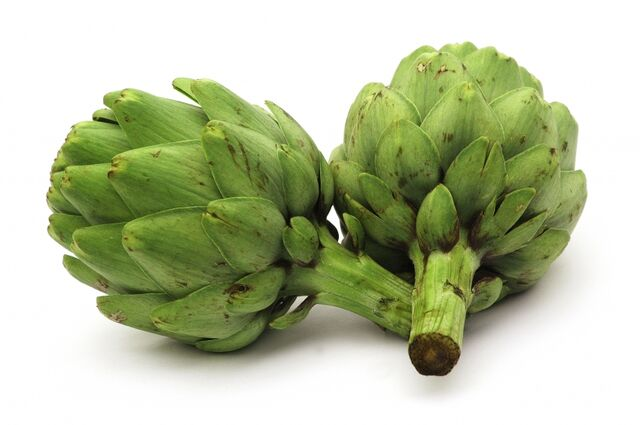 File:Fresh artichokes.jpg