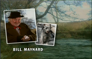 Bill Maynard as Claude Jeremiah Greengrass in the 1998 Opening Titles