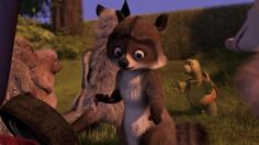 Over the Hedge RJ Almost Getting Caught