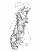 Hellboy and the BPRD 1 variant