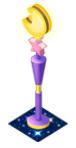 Pinkstarandmoonshapedlamp