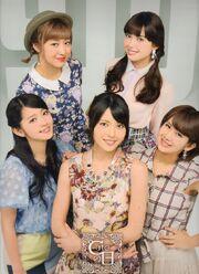 C ute, Hagiwara Mai, Nakajima Saki, Okai Chisato, Suzuki Airi, Yajima Maimi-488520